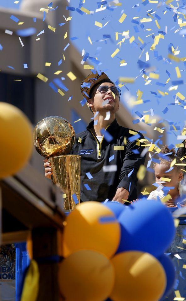 Steph Curry Champion