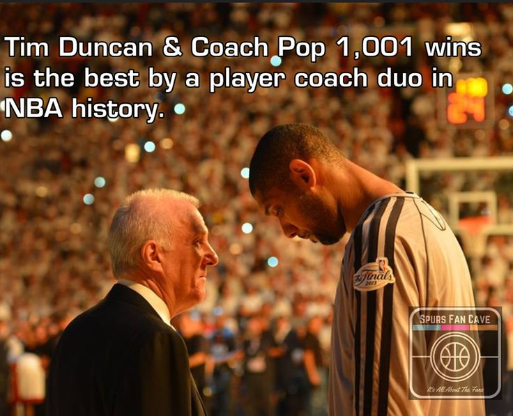 Duncan and Pop cornerstones of the Spurs Dynasty