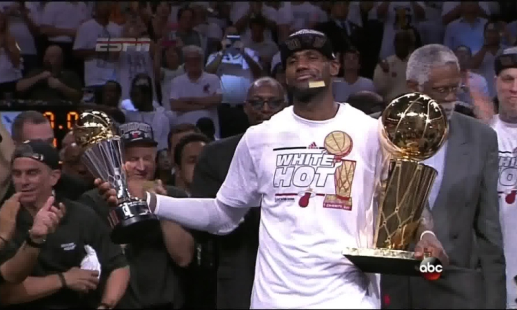 LeBron James CHAMPION