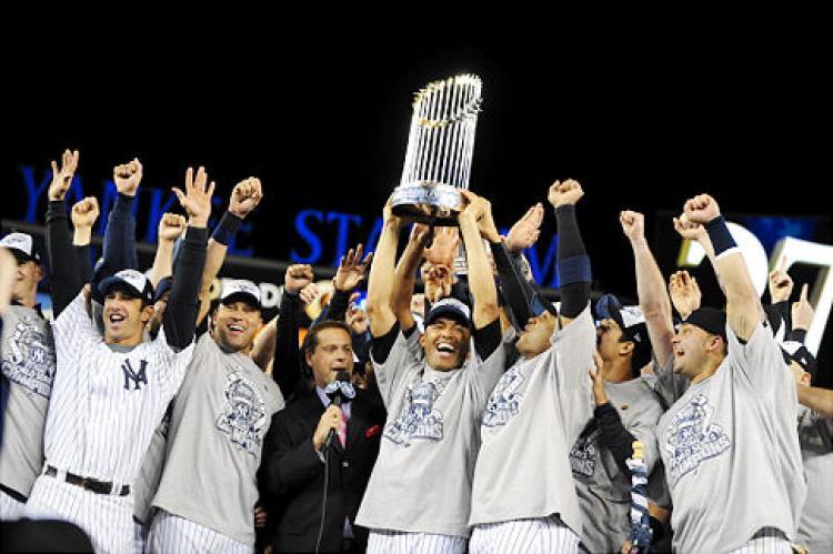 Yankees 1998 WS Champion Photo