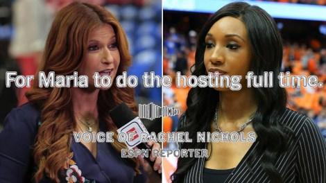 Maria Taylor, Rachel Nichols & ESPN's poormanagement